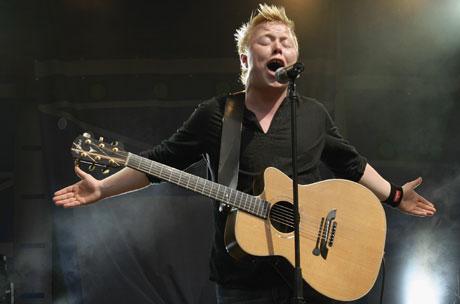 Kurt Nilsen under en konsert på Tusenfryd i sommer. Foto: Knut Fjeldstad / SCANPIX.