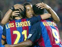 Ronaldinho er en av de store overgangene i spansk fotball. (Foto: Reuters/Scanpix)