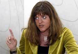 Utviklingsminister Hilde Frafjord Johnson deltar i Sudan-forhandlingene i Kenya.