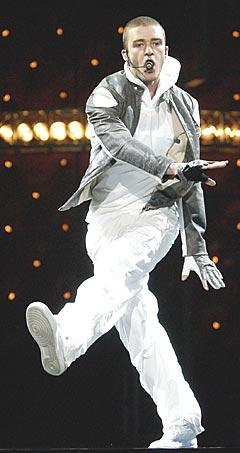 Nominert til sju priser: Justin Timberlake. Foto: AP Photo / Kevork Djansezian.