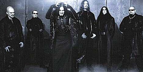Dimmu Borgir tilhører ingen sekt, men leker med sataniske elementer som så mange andre band før dem.... Foto: Promo.