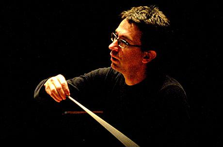 Om du går for å se Eivind Aadland, sjefdirigent i Trondheim Symfoniorkester, tilhører du sannsynligvis Trondheims kulturelle elite. Foto: Arne Kristian Gansmo, NRK.no/musikk.