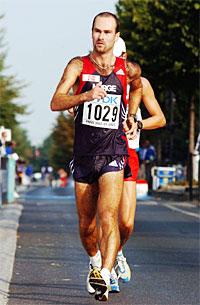 Trond Nymark var en av de som kom i mål på 50 kilometeren.