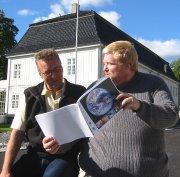 Vidar Lande (t.v) og Bjørn Tore Ødegården.