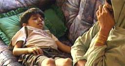 Ni år gamle Khuram blir nå behandlet på Rikshospitalet.