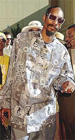 Snoop Dog er en av flere uforutsigbare rapartister. Foto: Reed Saxon / AP.