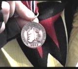 Medaljen beviser styrkeprøven til Anne
