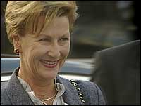 H.M. Dronning Sonja. (Foto: NRK)