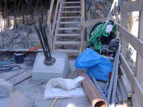 Byggenæringen vil ha flere kontroller av anleggsplasser for å unngå at det blir farlige forhold, slik som her på Svinesund ( Foto: Egon Christensen, Arbeidsmandsforbundet )