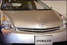 Toyota Prius, en av favorittene. (Foto: Toshifumi Kitamura, AFP)
