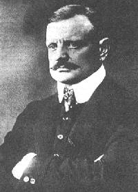 Jean Sibelius. Foto: Ukjent.