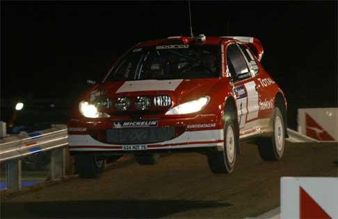 Marcus Grønholm kjørte av veien på åttende fartsprøve. Her under første fartsprøve i Rally Australia. (Foto: Scanpix/Mal Fairclough)