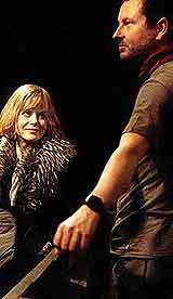 Nicole Kidman og Lars von Trier.