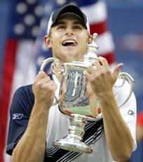 Andy Roddick kan løfte sin første grans slam-tittel (Foto: Scanpix/Reuters)