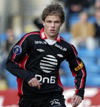 Erlend Hanstveit er for første gang med på A-landslaget. (Foto: Scanpix)