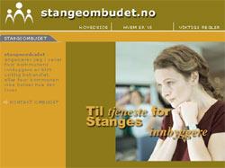 "Med internettstedet ""stangeombudet.no"" skal politikerne sørge for at stangesokningene får det de har krav på. (foto:stangeombudet.no)"