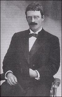 En ung Knut Hamsun