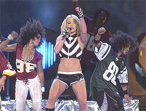 Sensuelt og sexy er visstnok stikkord til Britneys nye album. Foto: Gerald Herbert / AP.