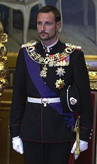 Kronprinsen anla skjegg rett etter at han vart gift. (Foto: Scanpix)
