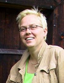 Marit Gilleberg mener at problemet med maling på plast er overdrevent.