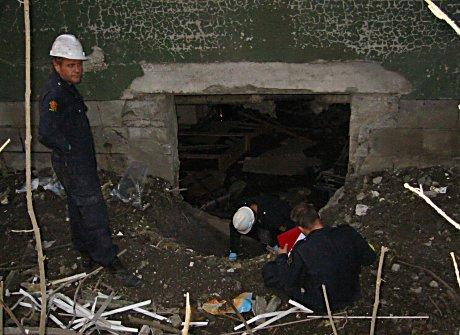 : Kripos leter etter tekniske spor etter bomben.