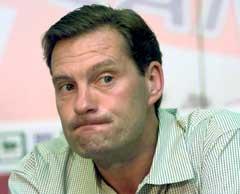 Glenn Hoddle fikk sparken i september.