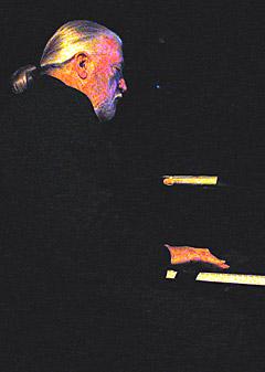 Jon Lord i Nidarosdomen under årets Hell Bluesfestival. Foto: Line Gevelt Andersen.