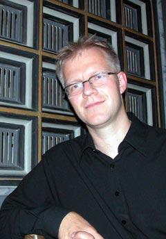 Kunstnerisk leder for Trondheimsolistene, Øyvind Gimse. Foto: Line Gevelt Andersen.
