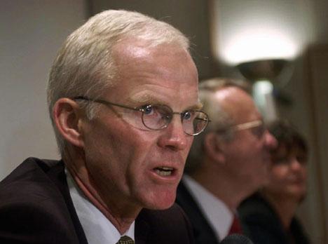 Statoils konsernsjef Olav Fjell måtte gå av etter Iran-saken.