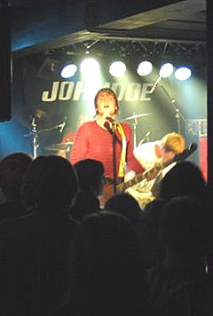 JohnDoe er et av bandene på RørosRock. Foto: Anders A. Steinnes.