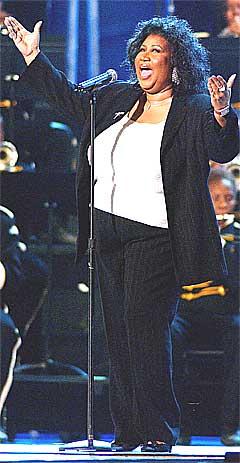 Aretha Franklin har spilt inn over 40 album i sin karriere. Foto: REUTERS / Stefan Zaklin.