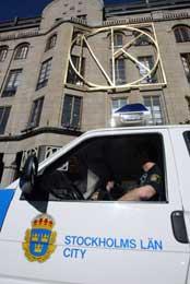 Politiet etterlyser vitne som kan ha sett drapsmannen utanfor varehuset NK. (Scanpix-AP-foto)