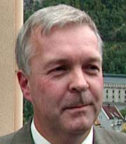 Per Christian Voss er direktør for Blefjell sjukehus. Foto: NRK