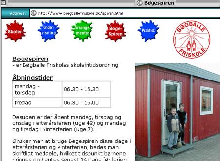 """Vi får håpe denne """"skolen"""" ikke drives av svensker. (http://www.boegballefriskole.dk/spiren.html Takk til Øystein Horgmo for tips. )"""