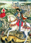 Sankt Georg vinner over dragen