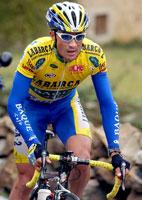 Felix Cardenas var best på den hardeste etappen av Spania Rundt. (Foto: AP Photo/EFE, Manuel Bruque)