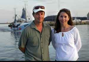 Arkivbildet viser paret under et besøk i Skagen på Jylland i juli i år. Foto Jørgen Jessen / Scanpix Denmark