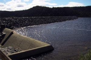 VANNSTAND: Vannstaden særlig i de norske kraftmagasinene vil avgjøre de skandinavisjke strømprisene.