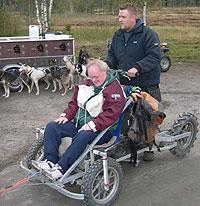 Lars Giltvedt er et skikkelig fartsfantom. Foto: NRK