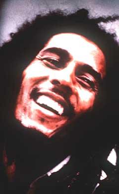 Bob Marley var reggae-musikkens frontfigur til sin død i 1981. Foto: AP Photo / Island Records.