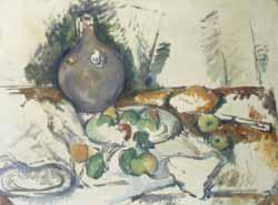 Stilleben av Paul Cézanne fra 1892-93.