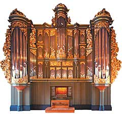 Ryde & Berg Orgelbyggeri AS får bygge orgel i Brasil. Kanskje et slikt? Foto: www.ryde-berg.no.