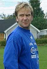 FK Sparta Sarpsborgs trener, Kai A. Andersen var svært skuffet over tapet mot Pors. Foto: NRK