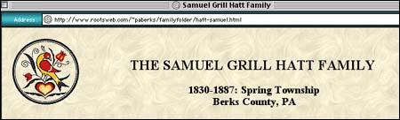 (http://www.rootsweb.com/~paberks/familyfolder/hatt-samuel.html )