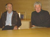 Hans Arnseth velge mellom sin lojalitet til ordfører Einar Busterud eller sitt medlemskap i Fremskrittspartiet.