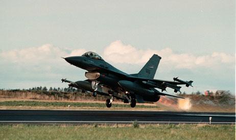 Ørland hovedflystasjon blir et treningssenter for jagerflypiloter fra hele Nato. (Foto: Gorm Kallestad, Scanpix)