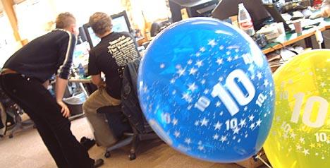 Petre fyller torsdag 10 år. Det er også ti år siden NRK Radio ble delt opp i sine tre kanaler. Foto: Jørn Gjersøe, nrk.no/musikk.