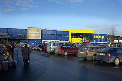 IKEAs varehus i Trondheim. - Nordlendingenes ferieparadis. Foto: Gorm Kallestad/SCANPIX
