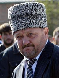Den tsjetsjenske presidenten Akhmad Kadyrov. Arkivfoto: AFP/Scanpix.