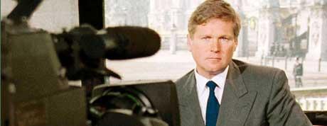 James Forlong ble tvunget til å gå fra Sky News Channel etter beskyldninger om falsk rapportering fra krigen i Irak(Foto: Reuters/Scanpix)